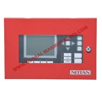 NITTAN NFU-AN-LCD LCDG ADDRESSABLE REMOTE NETWORK LCD ANNUNCIATOR 1