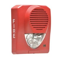 NITTAN EVCA-AP-SH WALL HORN STROBE RED FOR CONVENTIONAL