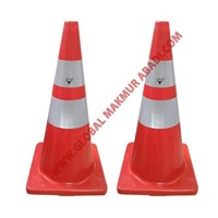 TEXAS TRAFFIC CONE RUBBER BASE ORANGE RUBBER CONE STREET DIVIDING MATERIALS