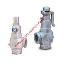 317 S3S-A CAST IRON SCREW SAFETY RELIEF VALVE