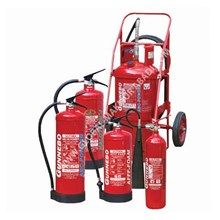 GUNNEBO FIRE EXTINGUISHER