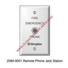 TYCO SIMPLEX 2084-9001 PHONE JACK STATION