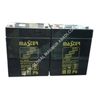 Jual MASTER BATTERY 12V 4AH