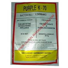 ORCHIDEE PURPLE K-70 DRY CHEMICAL POWDER