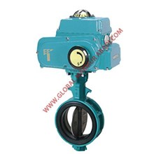 TOMOE 700Z-4I ELECTRIC ACTUATOR TYPE ALUMINIUM BUTTERFLY VALVE