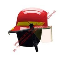 BULLARD LT SERIES FIREMAN HELMET HELM PEMADAM 1