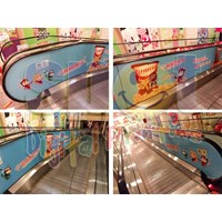 Jual Sticker Escalator
