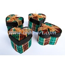 Kerajinan Box Perhiasan Love Lidi