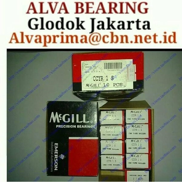 McGill Cam follower bearing PT ALVA BEARING SELL MCGILL bearing type CR jakarta