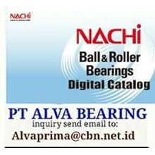 NACHI BEARINGS ROLLER BALL PT ALVA BEARING SHPERICALL TAPER BEARING NACHI