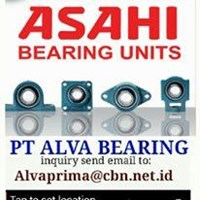 ASAHI BEARING PILLOW BLOCK PT ALVA BEARING ASAHI UCP UCT UCF ASAHI FLANGE BEARING 1
