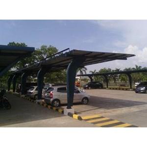 Jasa Pembuatan Fabrikasi Canopy Utk Gedung By PT. Putrowayah Perkasa