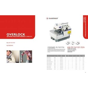 OVERLOCK SEWING MACHINE 4 THREAD