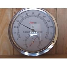 Hydrometer Dan Thermometer Ruang Sauna