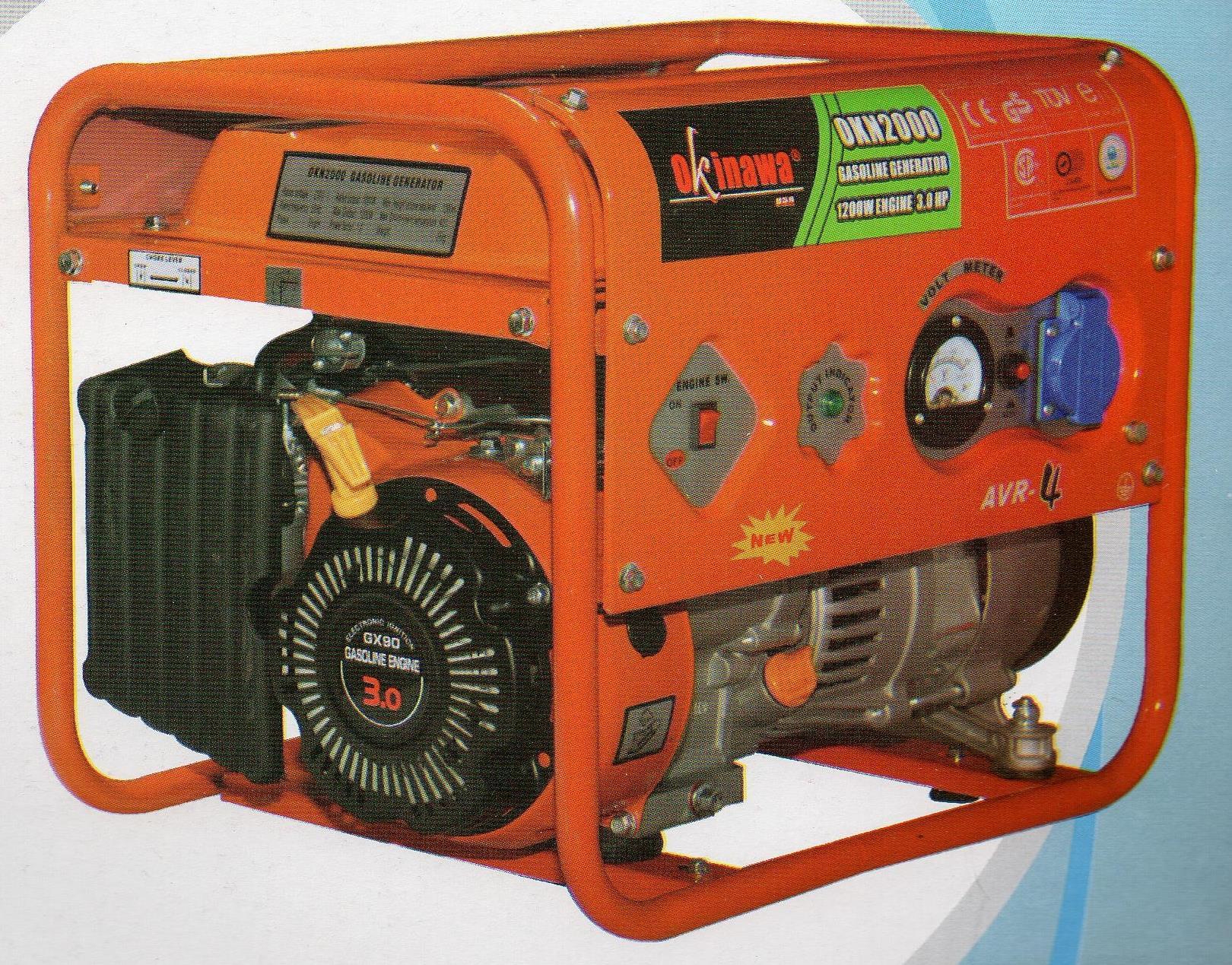 Jual Okinawa Gasoline Generator OKN 2000 Harga Murah Medan