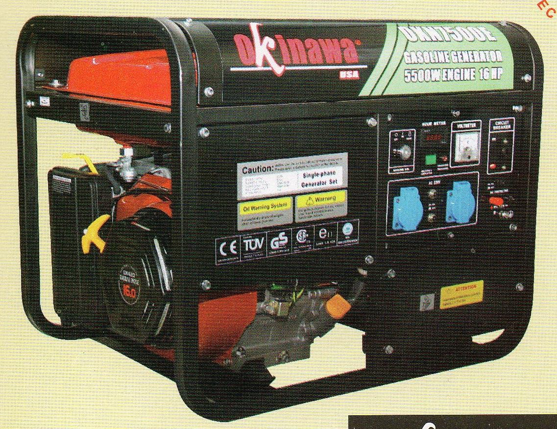 Jual Okinawa Gasoline Generator OKN 7500 E Harga Murah