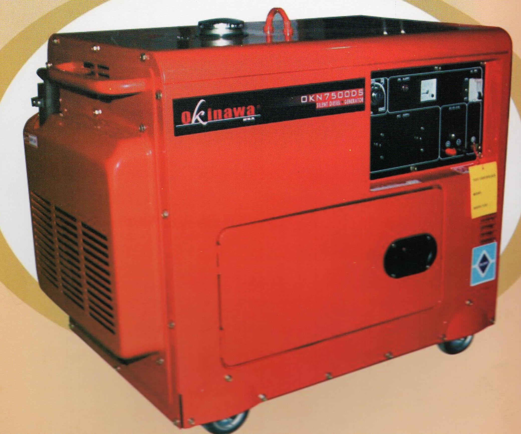 Jual Okinawa Silent Generator Diesel OKN 7500