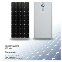 Solar Panel 150WP - Monocrystalline