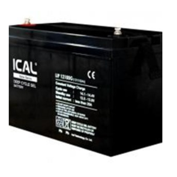 Baterai UPS ICAL-LIP12100G (12V 100Ah Deep Cycle Gel Battery)