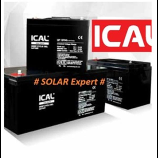 Baterai UPS ICAL-LIP1250G (12V 50Ah Deep Cycle Gel)