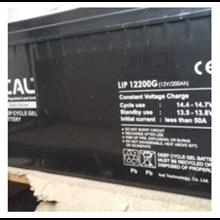 Baterai UPS ICAL-LIP12200G (12V 200Ah Deep Cycle Gel Battery)