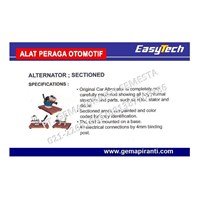 Jual Trainer Alternator Sectioned EASYTECH