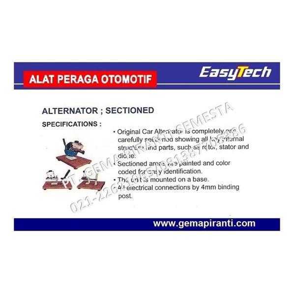 Trainer Alternator Sectioned EASYTECH