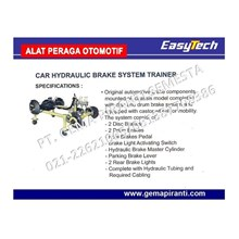 Alat Peraga SMK Trainer Brake System (Sistem Pengereman)