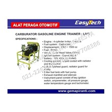 Trainer Mesin Karburator Mobil Bensin EASYTECH
