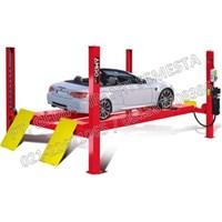 Four Post Lift Untuk Spooring dan Service Mobil