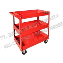 3 Stacking Trolley tool (Tool Carts 3 Rows)