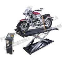 Jual Bike Lift untuk service sepeda motor (Meja Lift Sepeda Motor Besar)