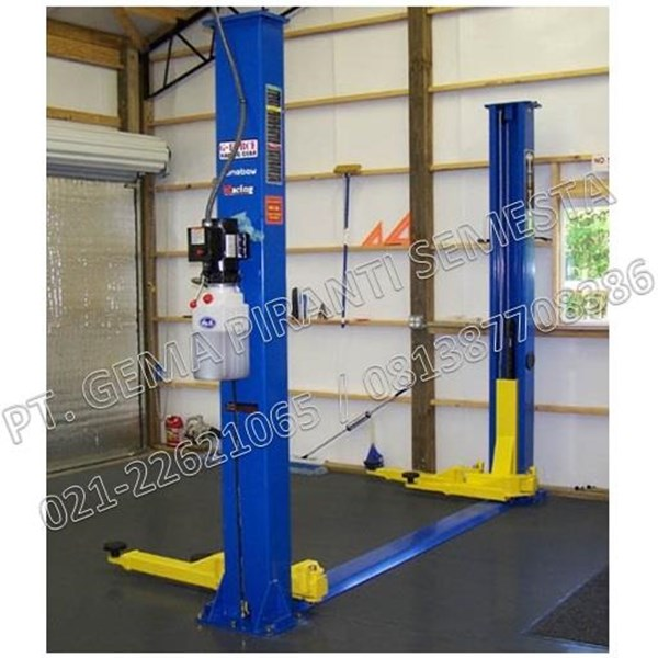 Two Post Lift (2 Post Lift untuk service mobil)