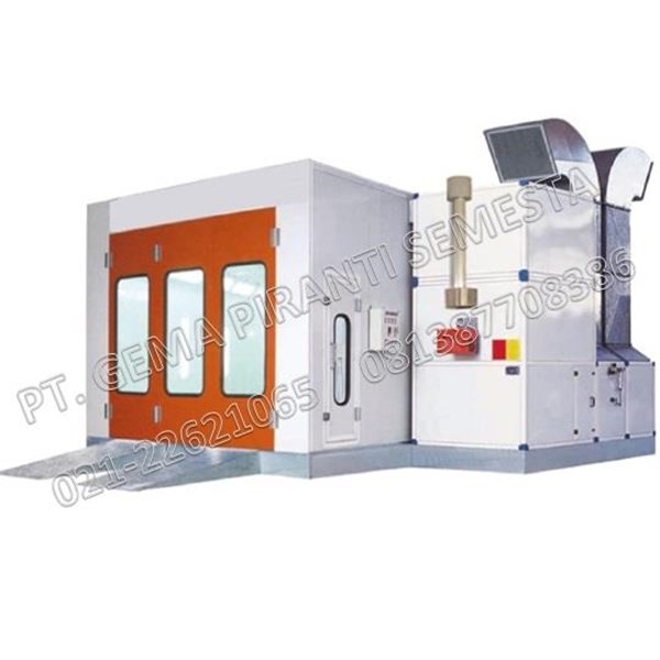 Cat Oven Body Repaired Mobil (Spraybooth cat Mobil)
