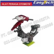 Trainer Sepeda Motor 4Tak EFI Transmisi Manual