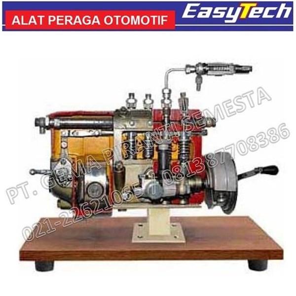 Trainer Pompa Injeksi Diesel In Line Peraga SMK (Alat Peraga Pendidikan)