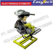 Trainer Sepeda Motor 2Tak Carburator Transmisi Manual