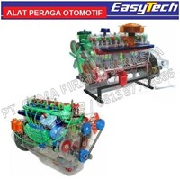 Trainer Mesin Diesel Transparan Demo