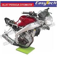Trainer Sepeda Motor Sport EFI Transmisi Manual