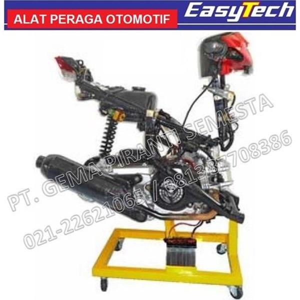 Peraga SMK Sepeda Motor 4 Tak Matic Mesin Carburator