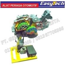 Trainer Sepeda Motor Carburator Transmisi Manual