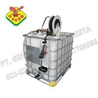 Central Oil Pump and Open Hose Reel (Pompa Oli Set