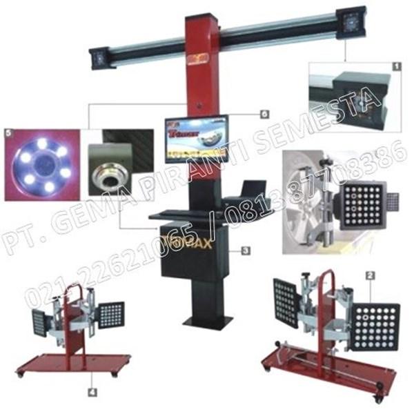 Mesin Spooring Trimax 3D Wheel Aligner (Mesin Dynamic Balancing)