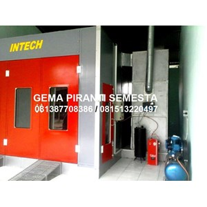 Cat Oven Body Repaired Mobil Double Blower INTECH (Spraybooth INTECH Double Blower)