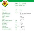Flow Meter Raasm art no.37780M (alat ukur aliran volume) 2