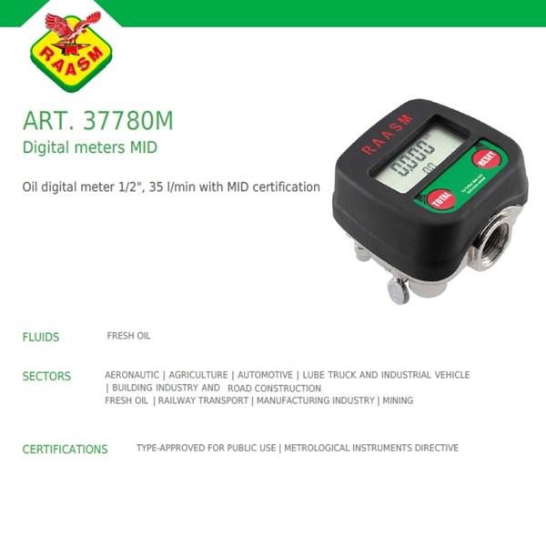 Flow Meter Raasm art no.37780M (alat ukur aliran volume)