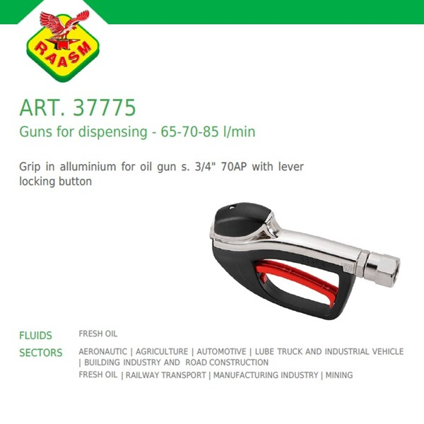 Raasm art no.37775 Grease Gun