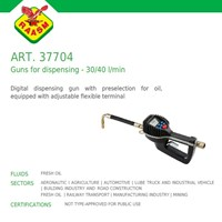 Raasm art no.37704 Grease Gun dengan Flow Meter digital