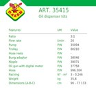Oil Dispenser Kits Raasm art no.35415 (Dispenser Oli Raasm) 2