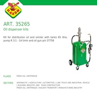Raasm art no.35265 Oil Dispencer Kits (Raasm Dispenser Oli)